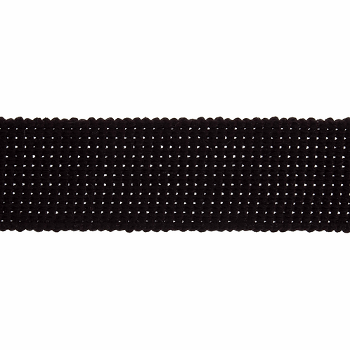 Black 30mm Cotton Webbing Strapping Tape