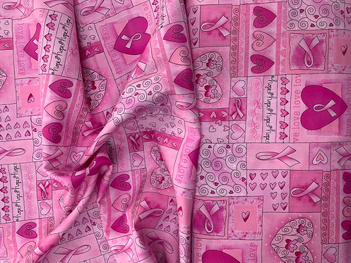 Hope Pink Fabric