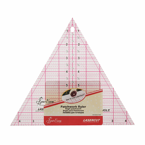 Quilting Rule 60 Degree Triangle 8 x 9.25inch