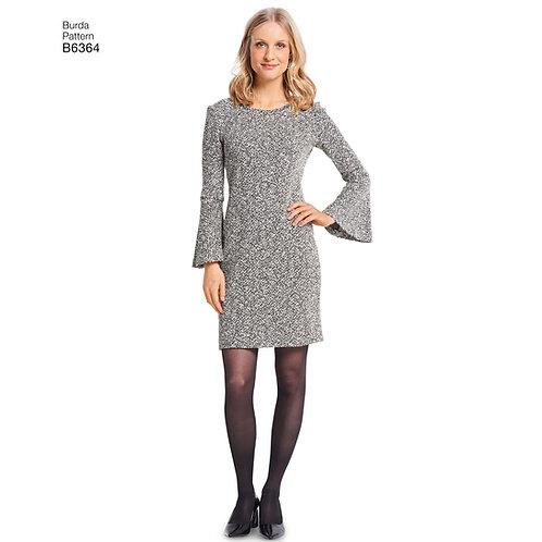 6364 Burda Pattern Dress