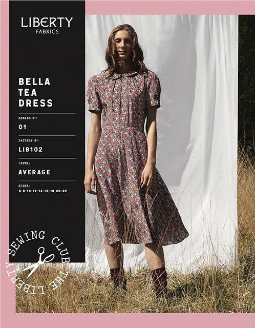 Bella Tea Dress Liberty Pattern