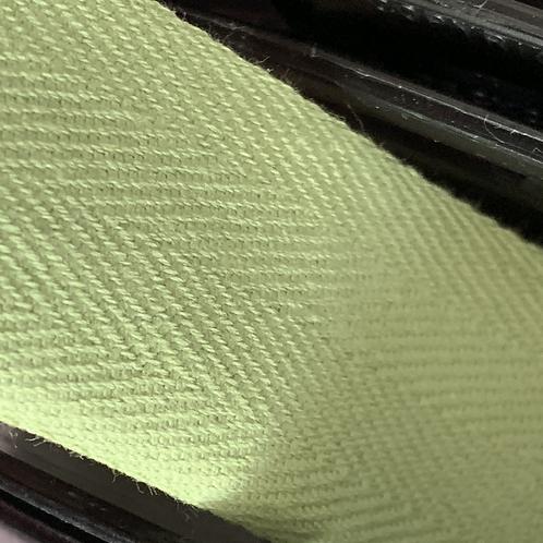30mm Vintage Green Cotton Twill Herringbone Tape