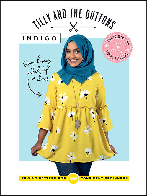 INDIGO Tilly & The Buttons PATTERN