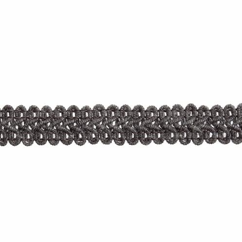 Grey 15mm Gimp Braid