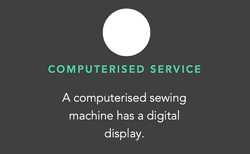 COMPUTERISED SEWING Machine Servicing