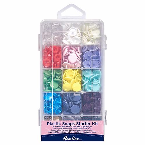 Kam Plastic Snaps Starter Kit