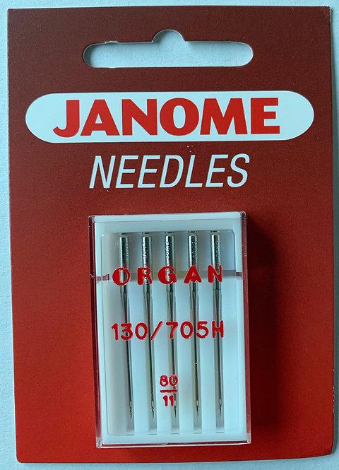 Janome 80/11 Sewing Machine Needles
