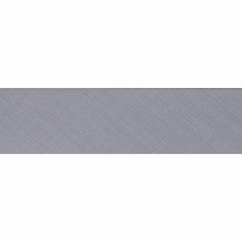 Pale Grey 25mm Bias Binding