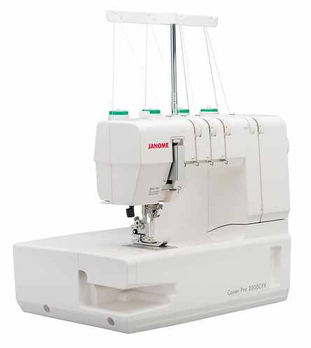 Janome 2000CPX CoverPro Stitch Machine
