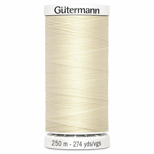 CREAM 414 Sew All Thread 250m