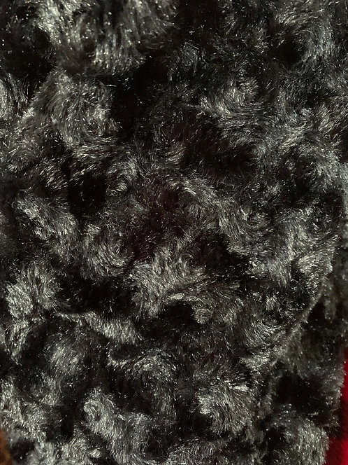 Black Circle Fur Fleece