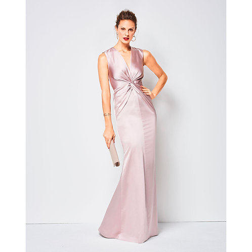 6442 V-Neck Dress Burda Pattern