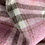 Thumbnail: Pink Wool Tartan Plaid Tweed