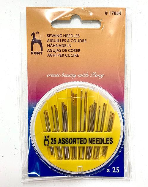 Mixed Pony Hand Sewing Needles