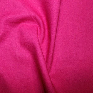 Pomegranate Pink 100% Plain Cotton Fabric