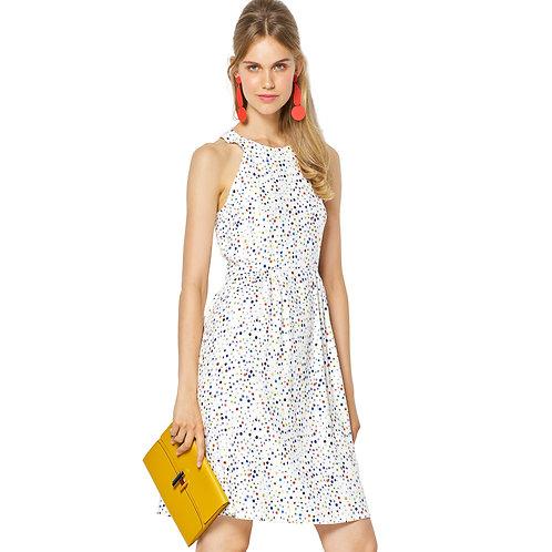 6311 Bare Shoulder Halter Neck Dress Burda Pattern