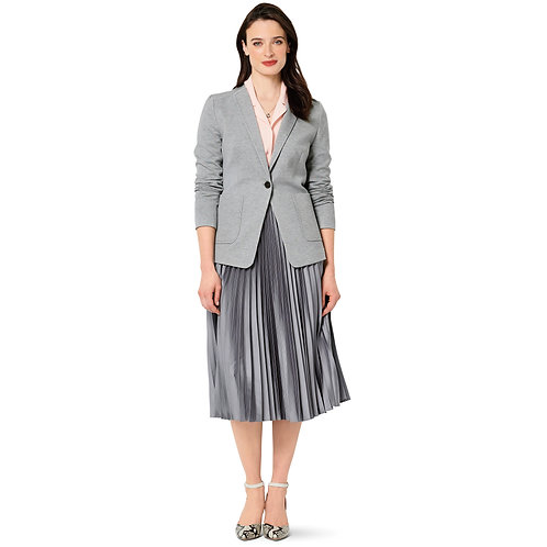 6273 Half Lined Jacket Burda Pattern