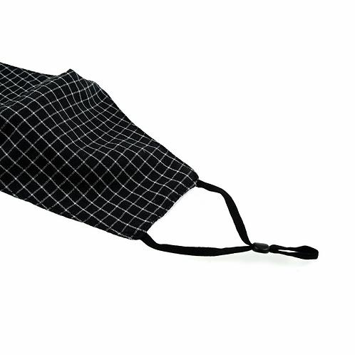 Adjustable Mask Elastic ties BLACK