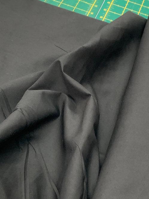 Black 100% Plain Cotton Fabric