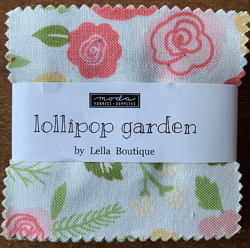Lollipop Garden Moda Mini Charm Fabric Pack