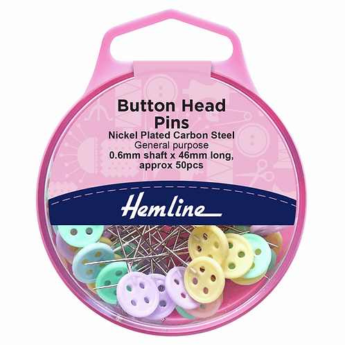 Pins Button Headed