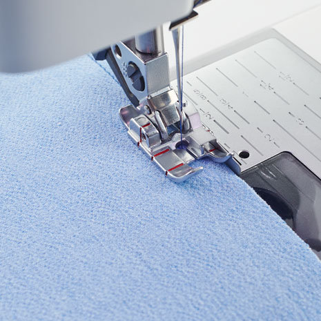 """Perfect ¼"""" Foot with guide for IDT™ System for Pfaff Sewing Machine"""