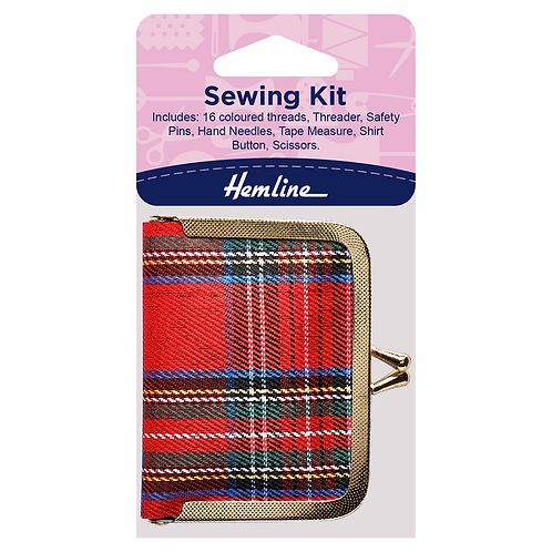 Tartan Purse Sewing Kit