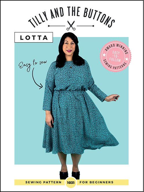 LOTTA Dress Tilly & The Buttons PATTERN