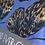 Thumbnail: Tiger Fly Metallic Twilight Queen Ruby Star Society Fabric
