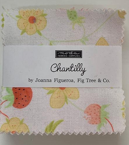 Chantilly Moda Mini Charm Fabric Pack