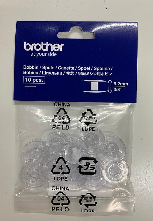 Brother 9.2mm Plastic Bobbins