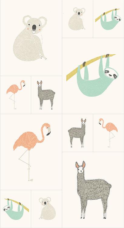 Zoology Panel by Moda