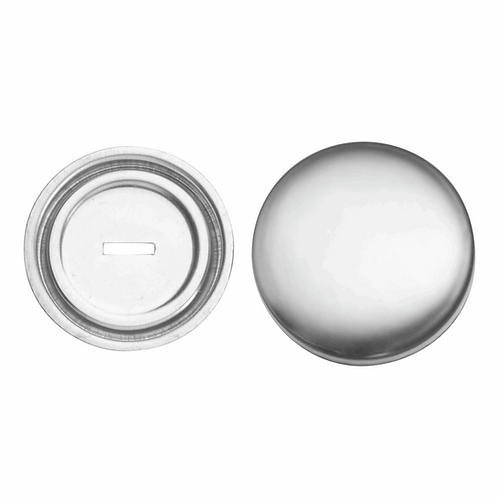 15mm Cover Buttons Metal