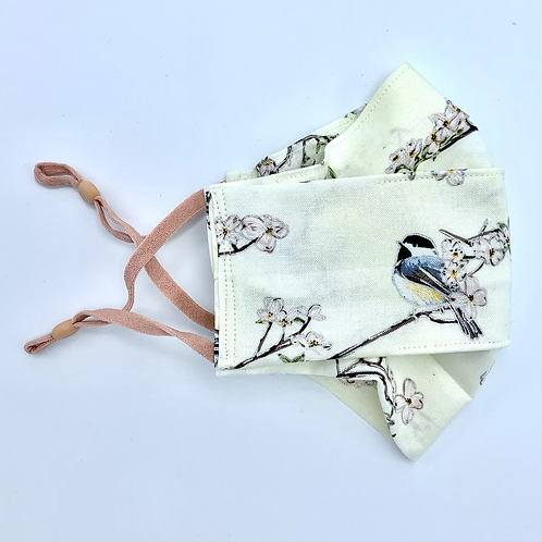 Face Mask Covering Tweet Birdy print