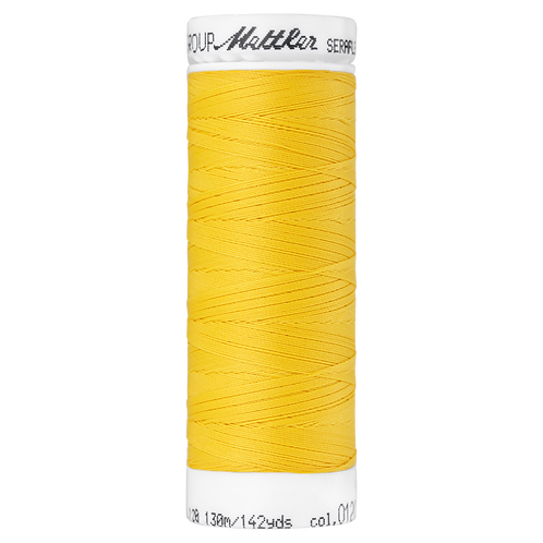 Seraflex Elastic Stretch Mettler Thread 130m Summer Sun YELLOW