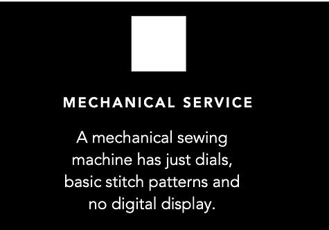 MECHANICAL SEWING Machine Servicing