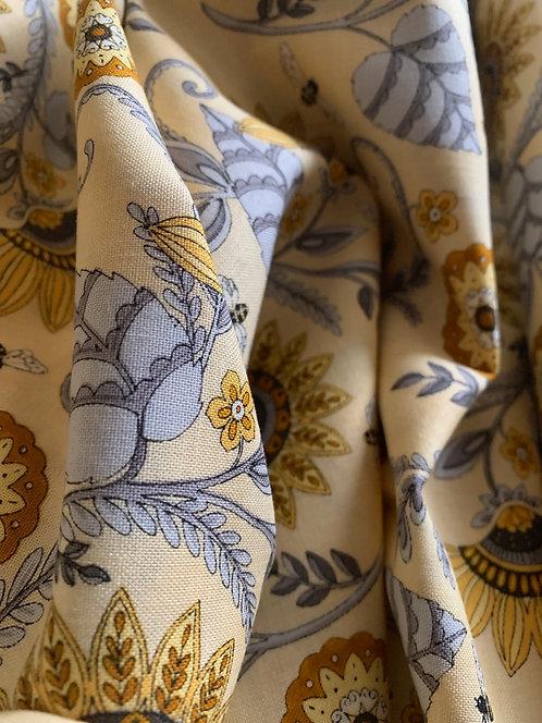 Bee Grateful 100% Cotton Fabric by Deb Strain Moda