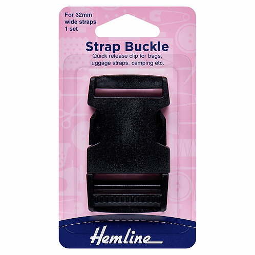 Strap Buckle Quick Release 32mm