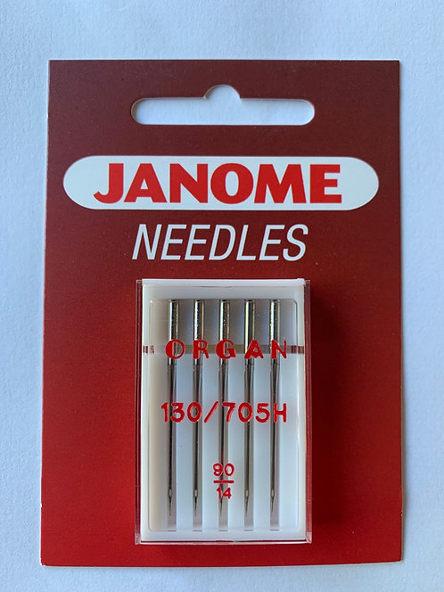 Janome 90/14 Sewing Machine Needles