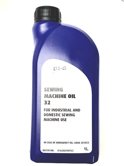 Sewing Machine Oil : 1 Litre Bottle