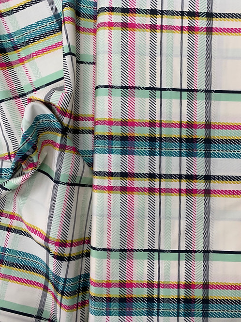 AGF Capsule Plaid Cotton Fabric