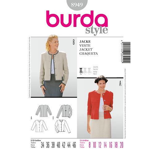 8949 Jacket Burda Pattern