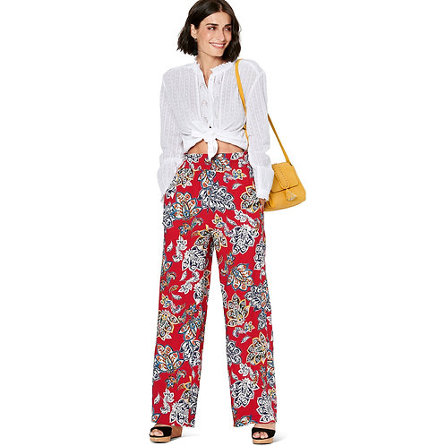Burda Style Pattern 6229 Pull-On Pants In Two Lengths