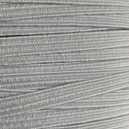 6mm Soft White Elastic by the metre