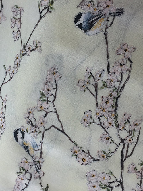 A Little Birdy Told Me 100% Cotton Fabric
