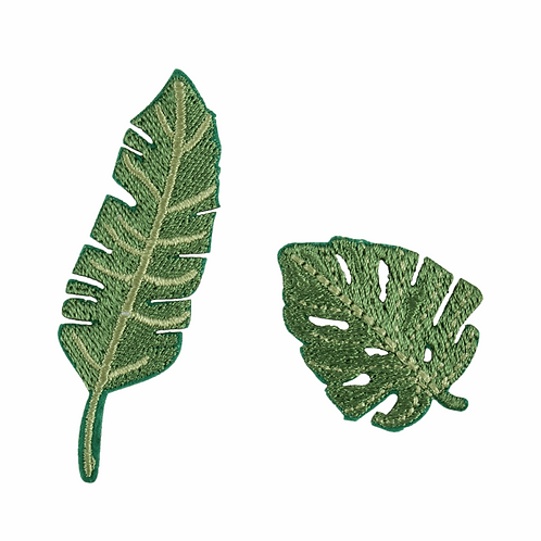 Plant leaves Iron On Motif