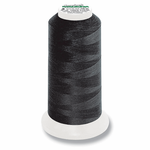 BLACK Overlocker Thread Kingspool 2,500m