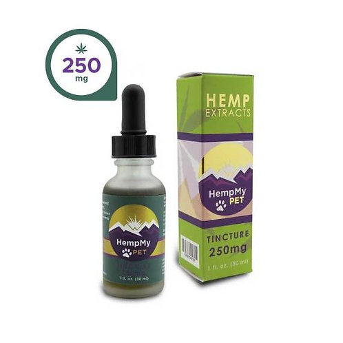 250 mg CBD Tincture Small Pets