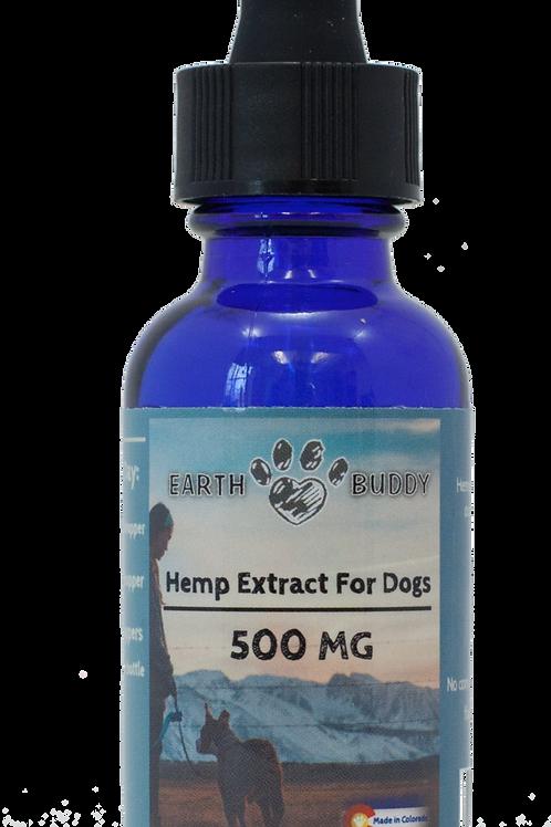 500 mg CBD Tincture Medium Pets