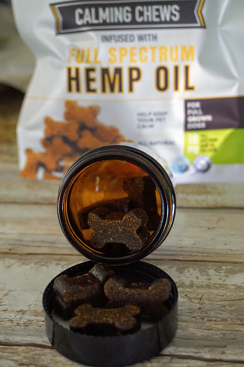 10 mg Dog Chews Infused With Full Spectrum Hemp Oil - Samples